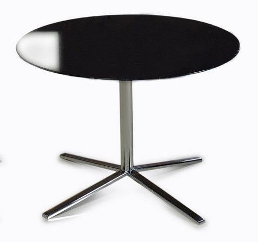 Versus T48A   Black End Table