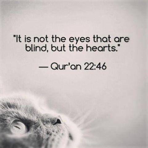 #Qur'an, 22:46, #verse