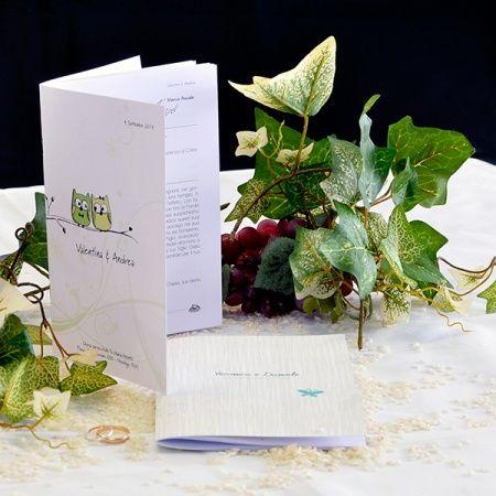 Libretti per gli sposi