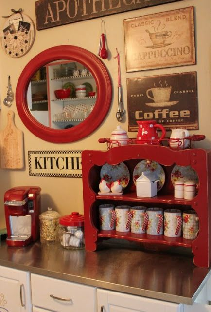 cozy little house: The Less Than $50 Kitchen Redo http://www.simplyvintagestyle.com/