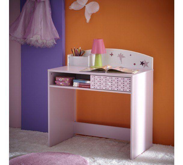 Fee Skrivebord - Skrivebord i lilla med 1 skuffe og 1 hylde