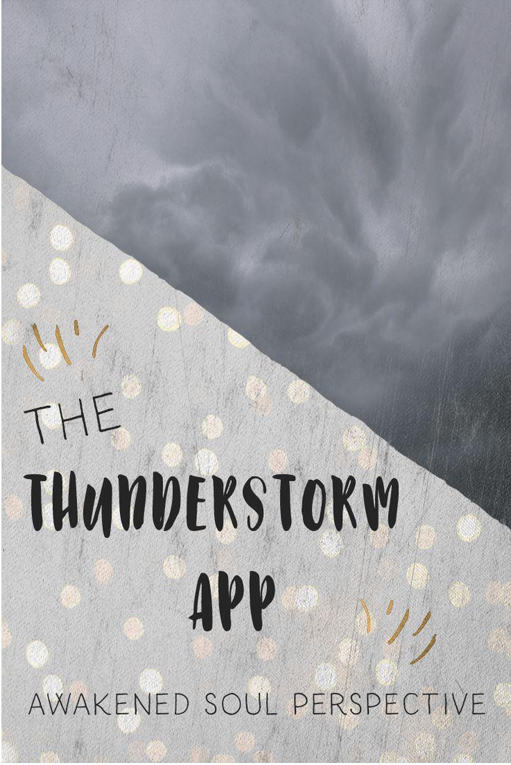 THE Thunderstorm App