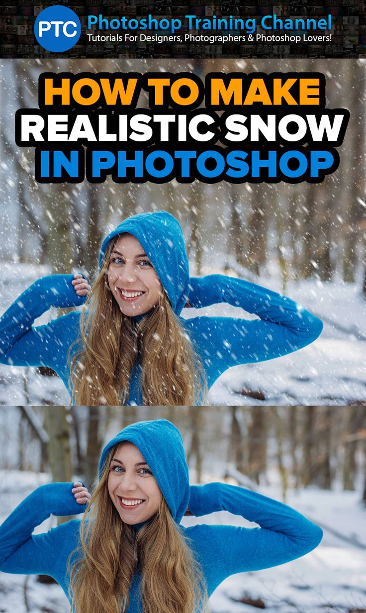 In this tutorial, you will learn how to create snow in Photoshop.This will be a two-part tutorial. In the first part, we will use a Stock photo to apply the snow effect to a photo.In the second part, you will learn how to make realistic snow by using just a few simple filters in Photoshop.