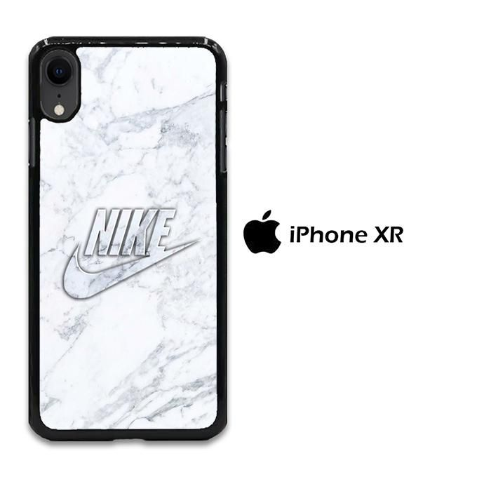 Nike Marble Pattern 003 iPhone XR Case in 2019