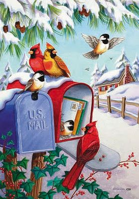 Mailman - if he does not deliver my Christmas card on time. This should be after Christmas though...