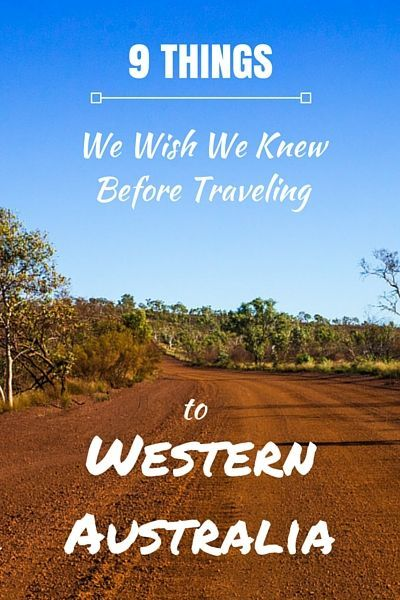 9 Things We Wish We Knew Before Traveling to Western Australia