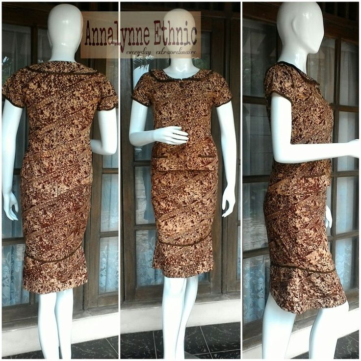 Batik sogan jepara - made by Annalynne Ethnic Indonesia