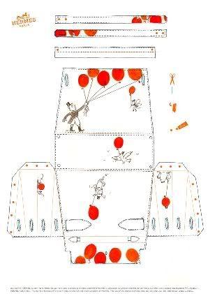 hermes purse templates: Template & Printable Patterns - Splitcoaststampers