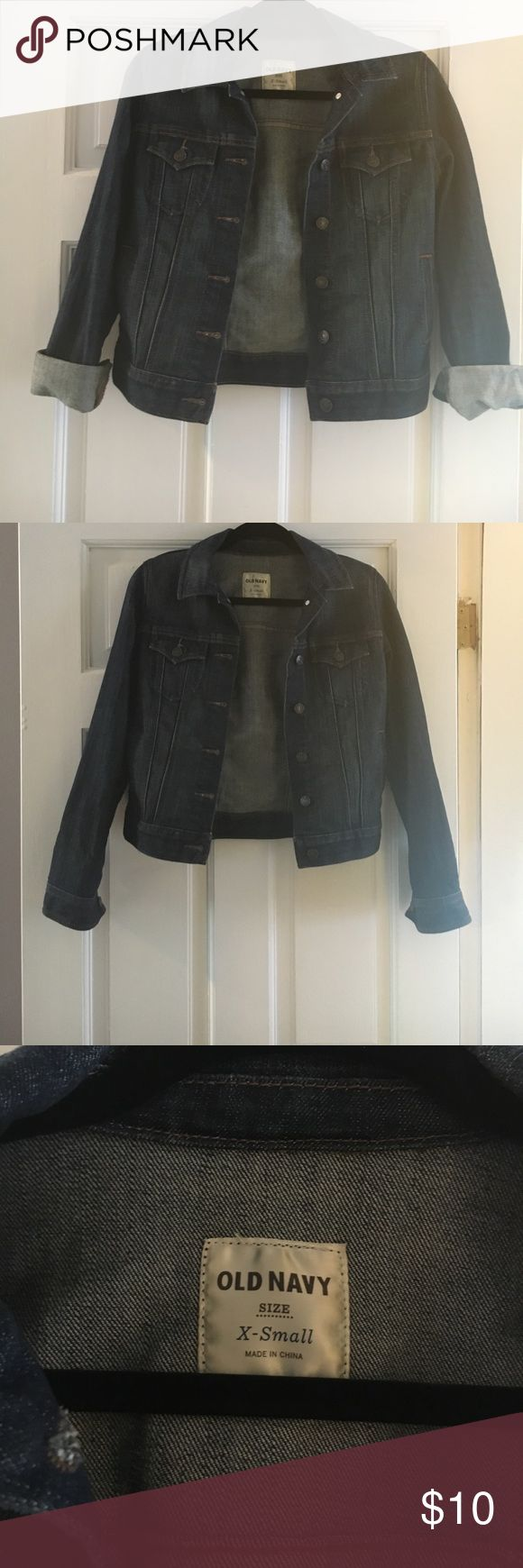Old navy jean jacket Old navy jean jacket. Great condition Old Navy Jackets & Coats Jean Jackets