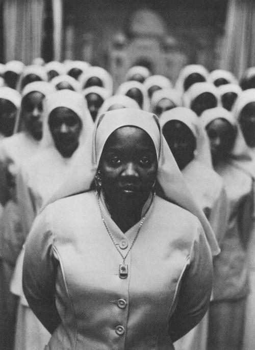 by Gordon Parks, 1963 - Elijah Muhammad's Daughter, Ethel Shariff, Chicago. S)
