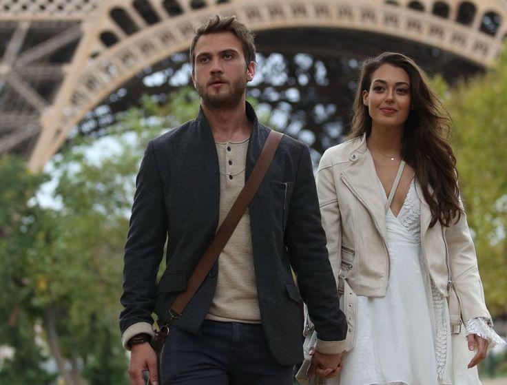 Merakla beklenen Çukur'un ilk fotoğrafları Paris'ten geldi