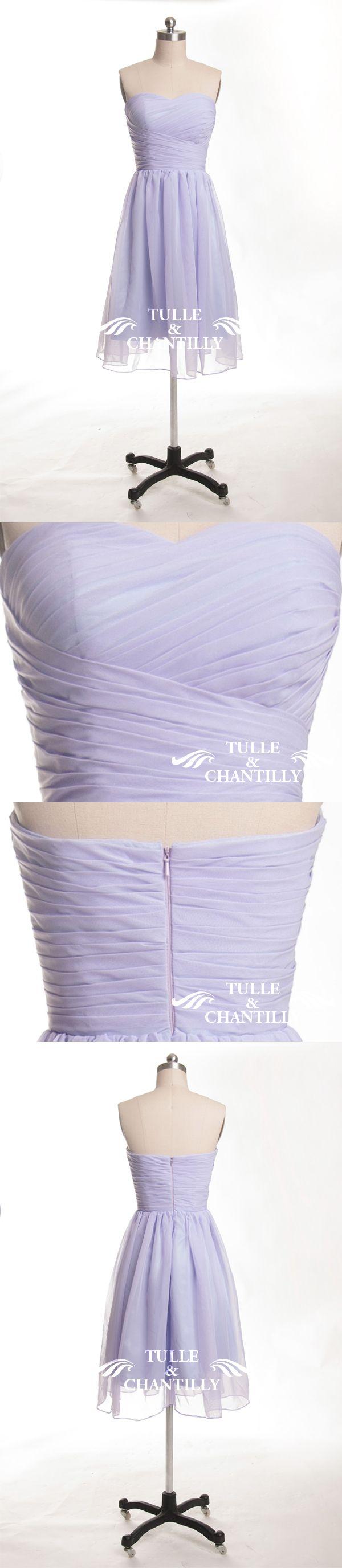 lilac light purple passion bridesmaid dresses short