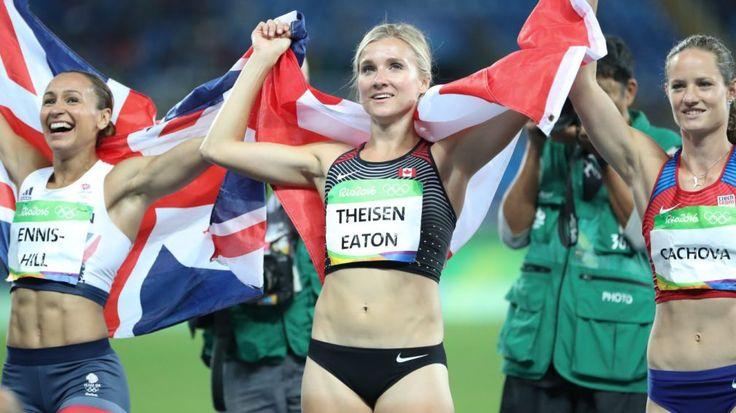 Rio 2016: Theisen-Eaton and Canada's first ever heptathlon medal