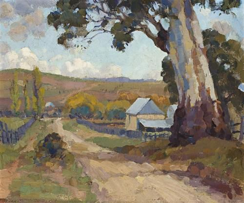 Trenerry engaged with the painting styles of Gruner and Heysen, yet responded to the landscape with his own instinctive and highly sensitive approach. Description from wikiart.org. I searched for this on bing.com/images