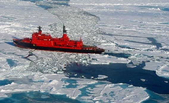 Thanks To Global Warming, Arctic Shipping Has Quadrupled in the Past Year