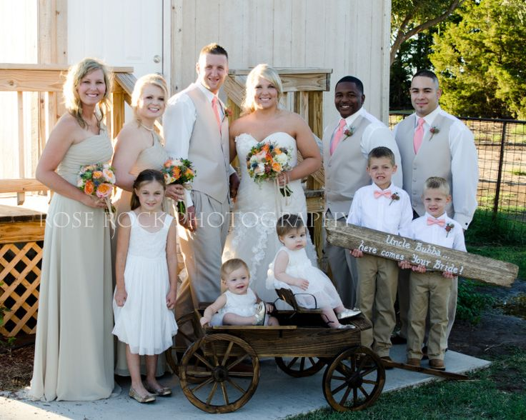 Miller Wedding, Rose Rock Photography, bride, groom, couples, photography, wedding, bouquet, colors, coral, country, barn