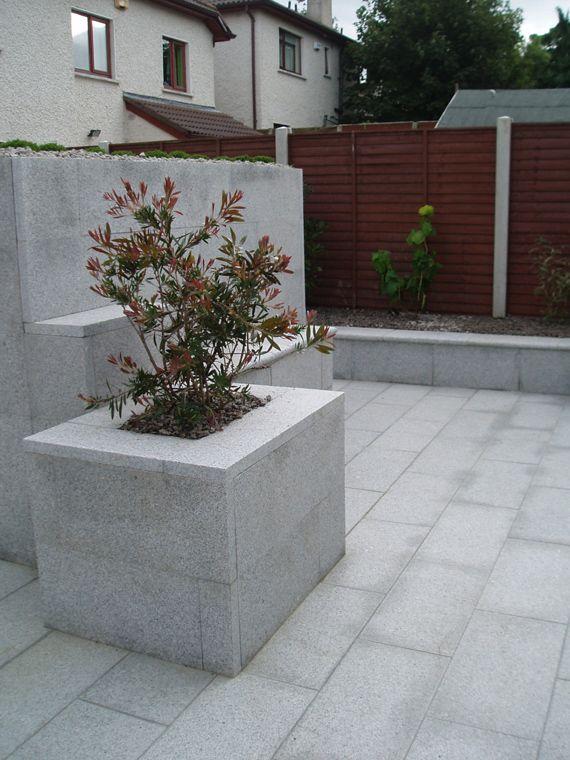 Granite Paving Silver Speckled Stone