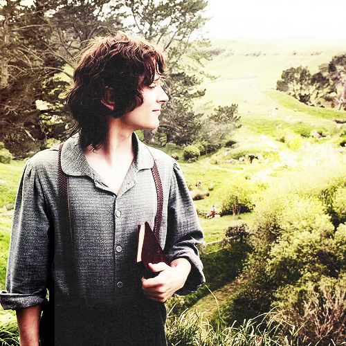 """""""I spent all my life pretending I was off somewhere else. Off with you (Bilbo), on one of your adventures. But my own adventure turned out to be quite different."""" - Frodo Baggins, """"The Lord of the Rings: The Fellowship of the Ring"""""""
