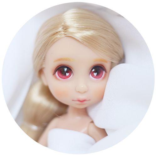 Disney mini babydoll custom Rapunzel