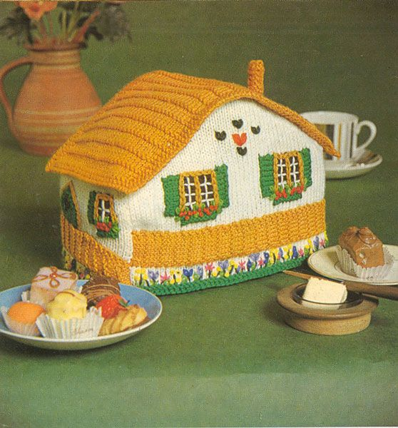 Vintage Tea Cosy Knitting Patterns Free : Best images about tea cozy on pinterest cottages
