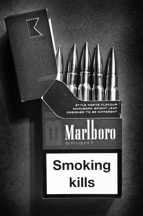 Cigarette bullets