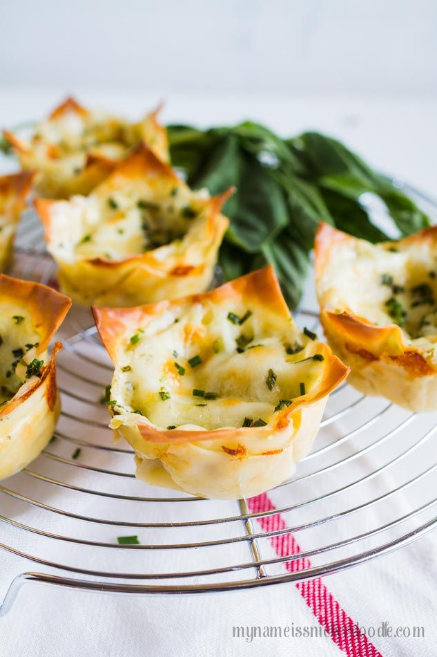 Meal prep made easy with using leftove chicken and just 3 other ingredients to make these Chicken Basil Alfredo Cups!  #ad PremiumPrep  #CollectiveBias |  mynameissnickerdoodle.com