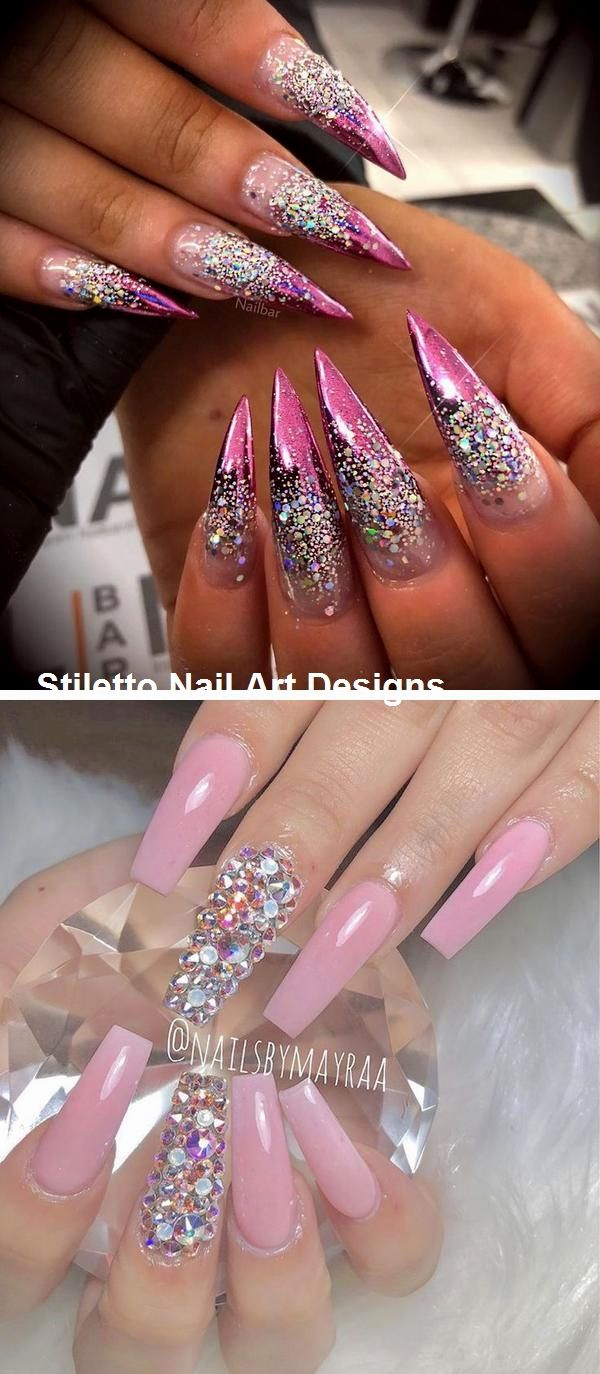 30 Ideen für ein großartiges Stiletto-Nageldesign #stilettonails #naildesign – Nails