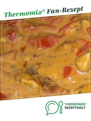 Geschnetzeltes mit Kokosmilch von Xlamont. Ein Thermomix ® Rezept aus der Kategorie Hauptgerichte mit Fleisch auf www.rezeptwelt.de, der Thermomix ® Community. – Nadjusch Apelt
