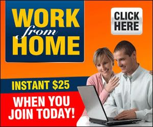 Work From Home? Take Your Chance...  Instant 25$ When You Join Today. http://buff.ly/1Tb3wVu