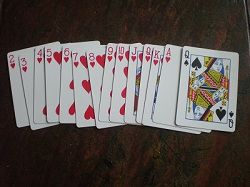 If you enjoy the card game Hearts or want to learn it, play Hearts online free against the computer on this page.