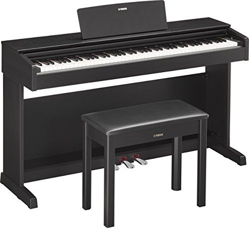 The Yamaha Arius YDP-143 is a great digital piano for any aspiring pianist. The Graded Hammer Standard (GHS) action combines with Pure CF sampling and Damper Resonance to recreate the depth and tone o...