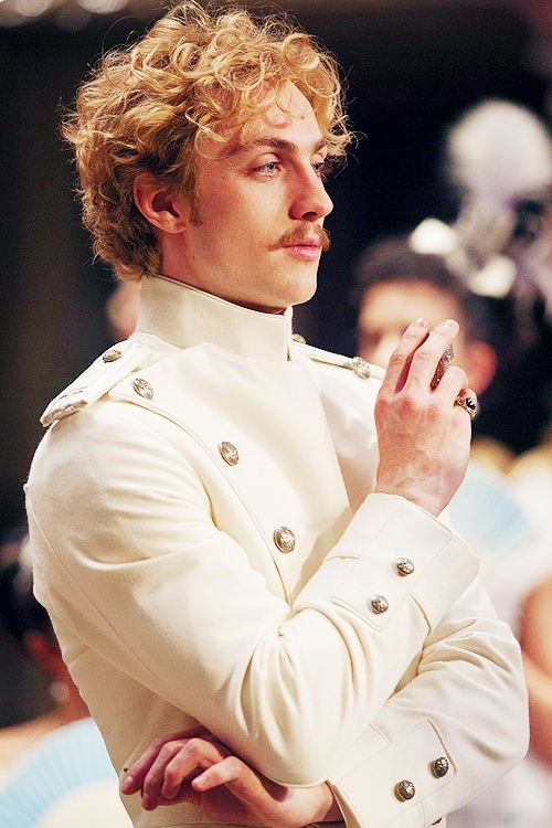 "Count Vronsky fixated on Anna yet again/still... ""Anna Karenina"" [2012] Keira Knightley, Aaron Taylor-Johnson, Jude Law, Matthew Macfadyen."