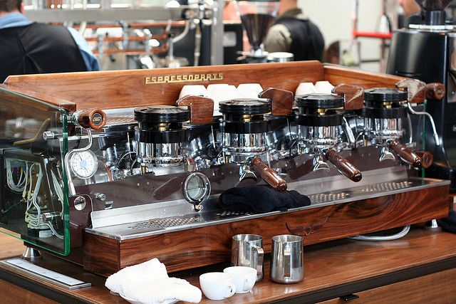 Intelligentsia 1972 La Marzocco GS-2  The first thing I'm buying when I finally have money.