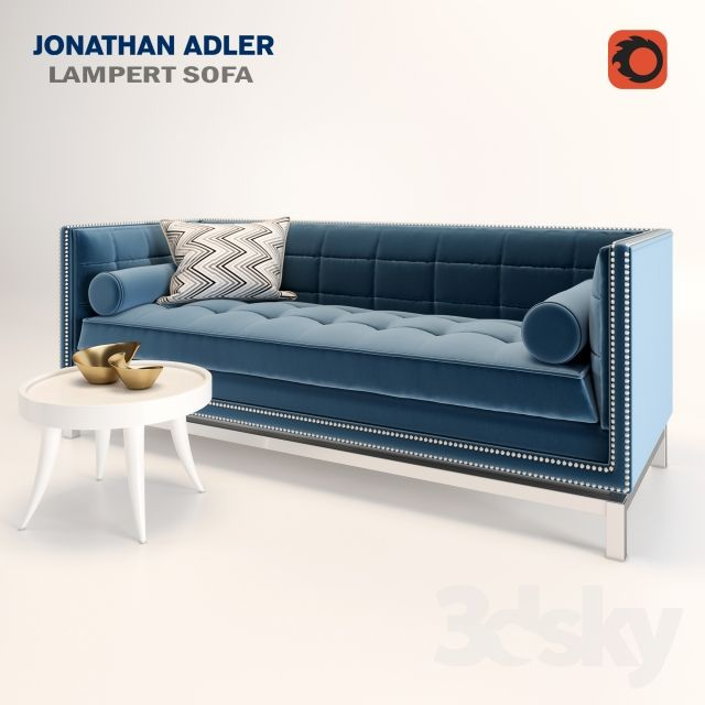 Lampert Sofa By Jonathan Adler
