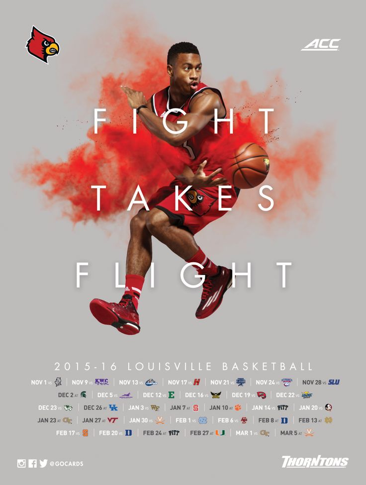 Poster Swag | See all the latest and greatest college athletics posters and graphic design work!