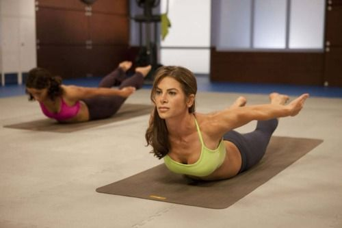 My absolute favorite yoga workout. Changed my bod in only 4 weeks! Find the free video on youtube.