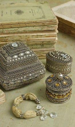 Persian Boxes: Beautiful Boxes, Pretty Trinket, Pretty Things, Boxes Silver, Boxes Thingsmatter, Assorted Trinket Boxes, Persian Boxes