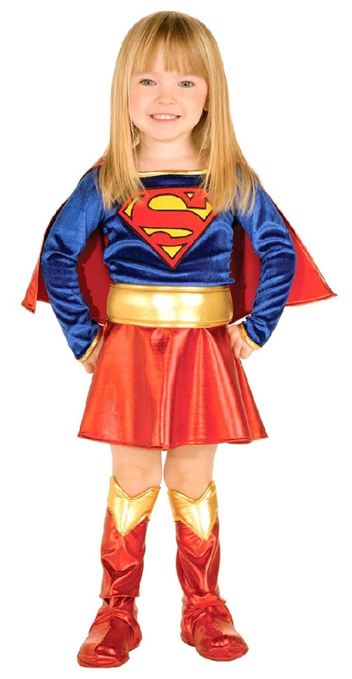 Supergirl Toddler Halloween Costume Holiday