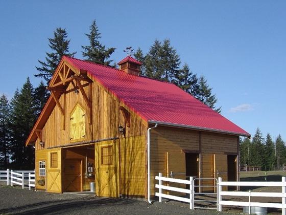 Gable Barns Custom Wood Barn Building Kits Barn Pros