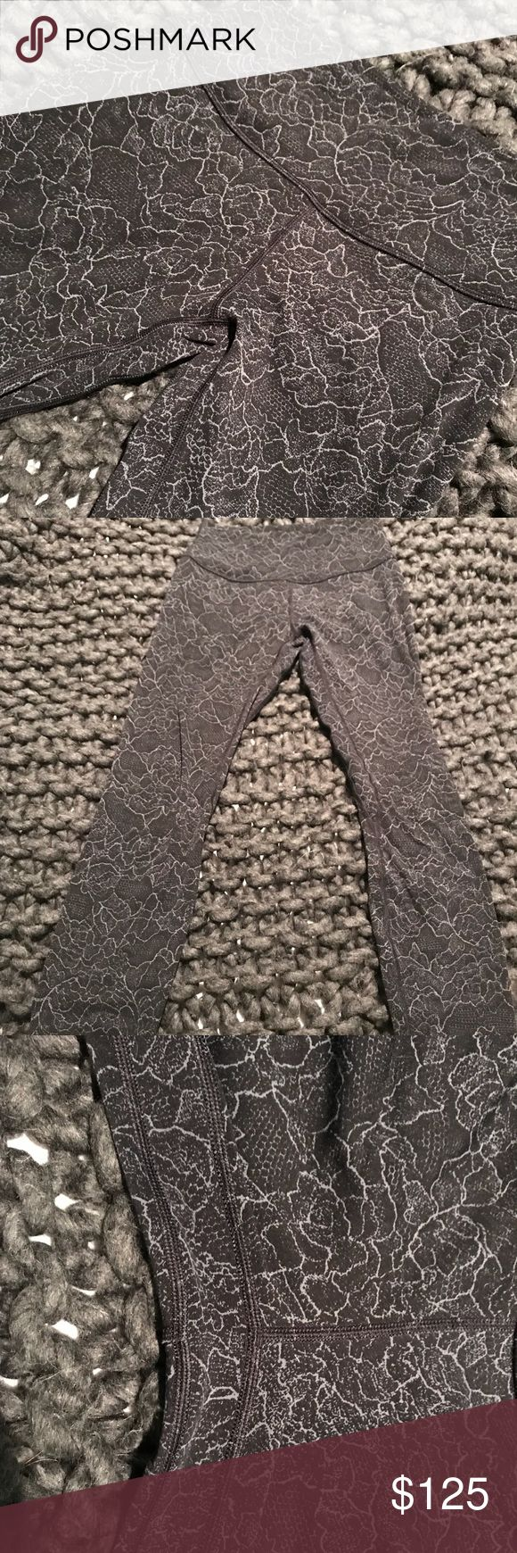 Black landscape cast black lululemon align EUC lululemon align pant 7/8 perfect condition. No flaws no pilling. Sold out color size combo.   Open to trades on other aligns size 4. ISO moody blues, blue shadow, so Merlot, Black lululemon athletica Pants Leggings
