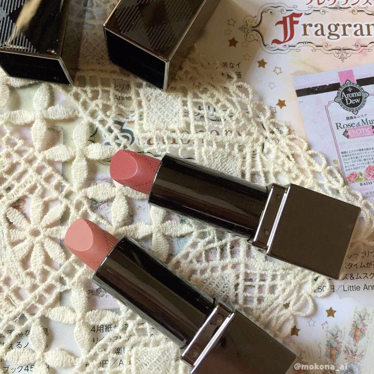 Midget beauties  mini size of #burberry lip mist in copper 202 & kisses in sepia 85 #MOTD #clozetteid #clozette #femaledailynetwork #fdbeauty #makeupjunkie #メイク #バーバリー #버버리