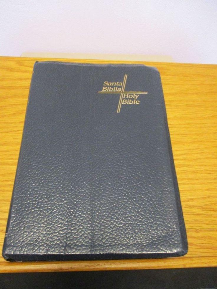 Santa Biblia Holy Bible King James Version Bilingual 1986