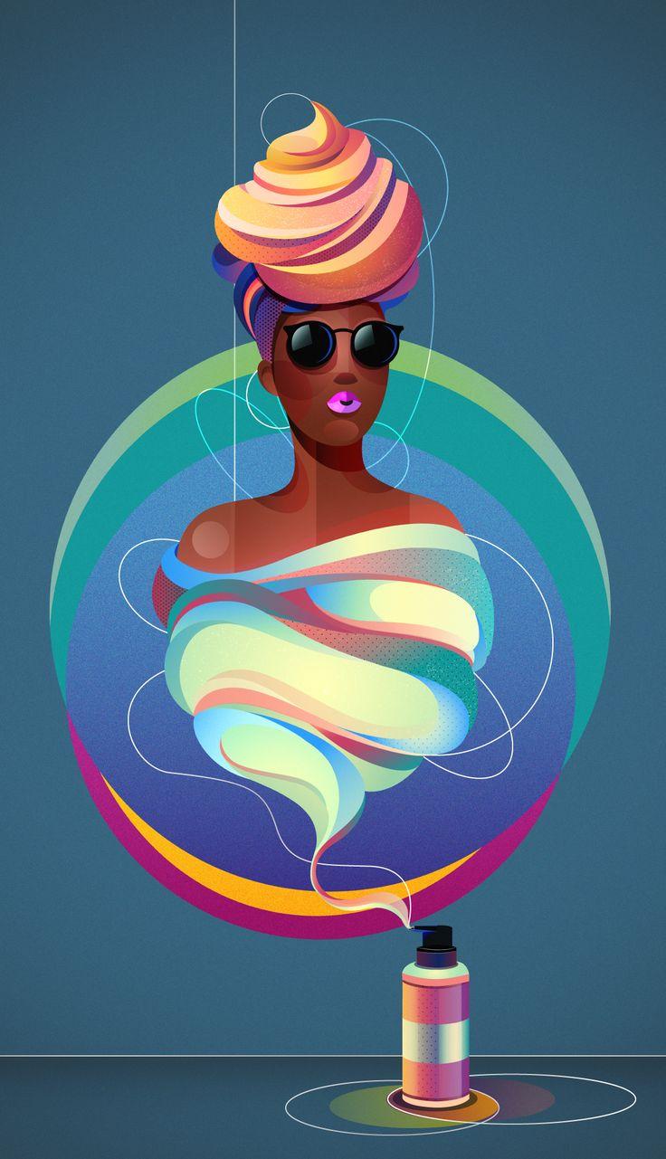 """查看此 @Behance 项目:""""Coloured shaving foam""""https://www.behance.net/gallery/34392881/Coloured-shaving-foam"""