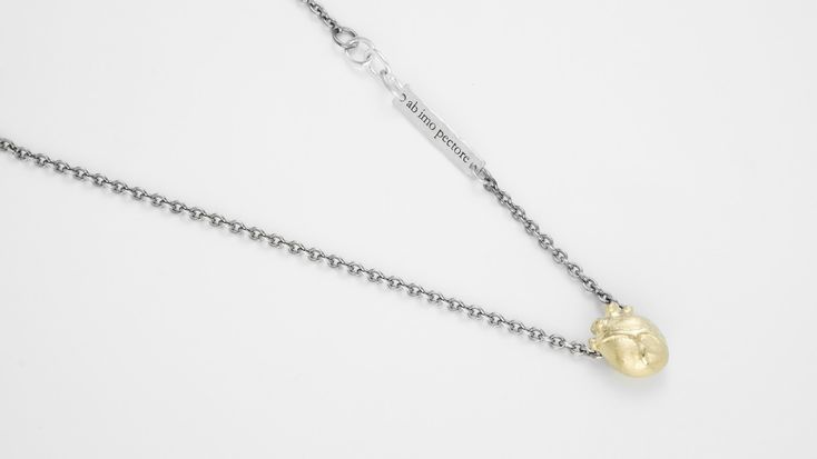 Small Anatomic Heart Necklace