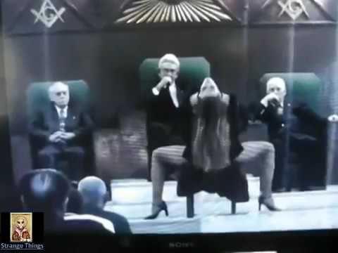 Strange Things: ILLUMINATI Footage from Secret Ritual