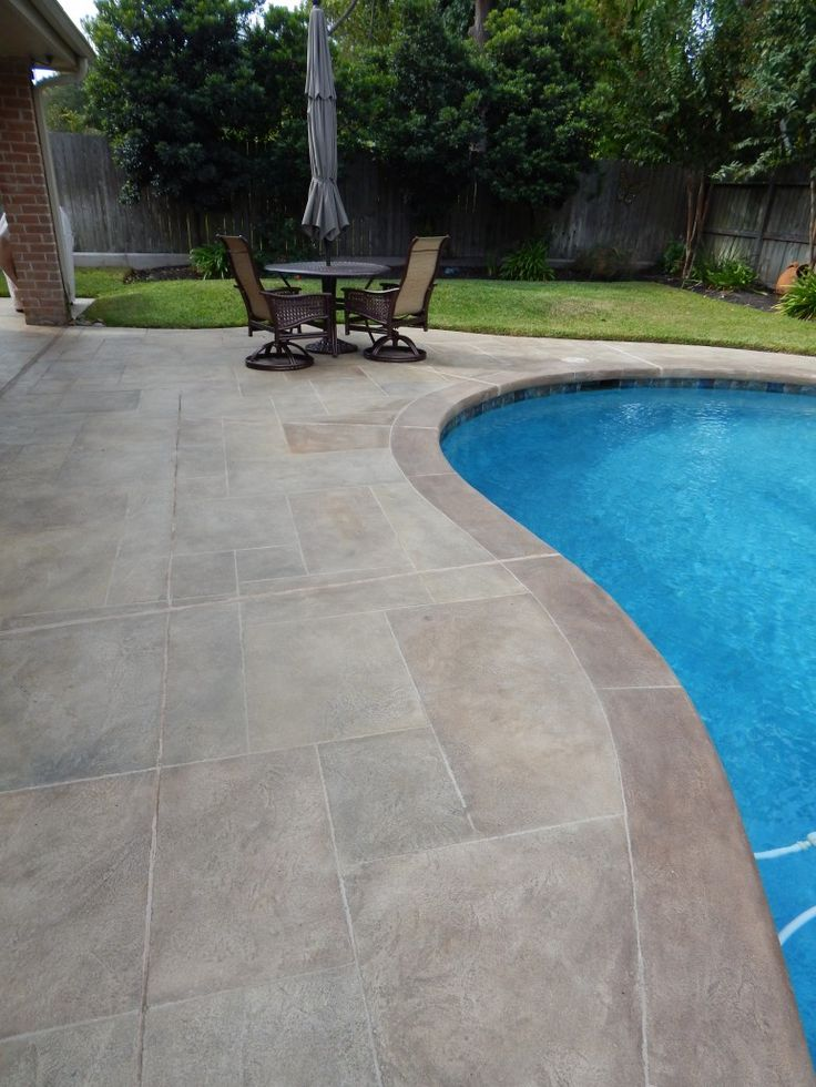 Carvestone Gallery  Before and After Pictures  pool in