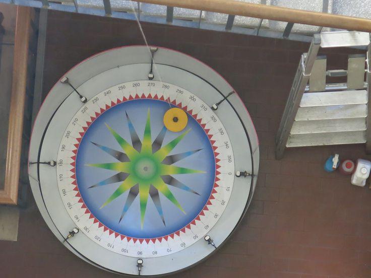MSC UNIPD il pendolo visto dal quarto piano, museo della fisica 11 ottobre 2013