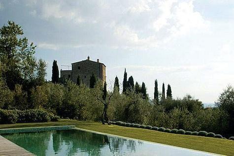Hotels & Lodging: Castello di Vicarello in Italy: Remodelista