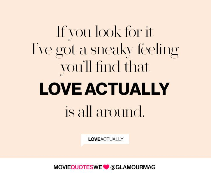 We'll never stop loving Love Actually quotes -- click for more!