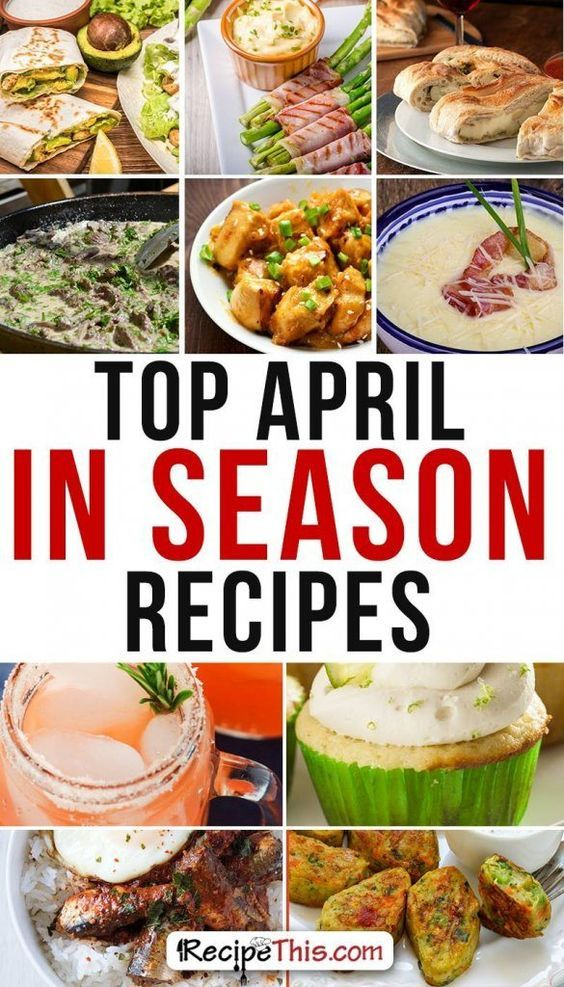 Cooking Tips FM | Best April In Season Recipes brought to you by recipethis.com